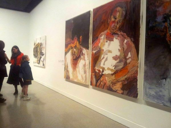 Ben Quilty exhibition. August, 2014