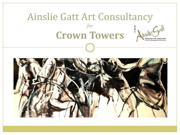 Shortlisted as Art Consultant for Crown Towers Perth