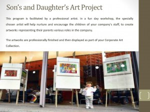 Sons and Daughters Art Project